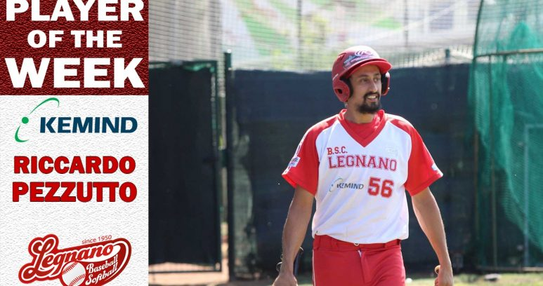 """Riccardo Pezzutto """"Player of the week"""""""